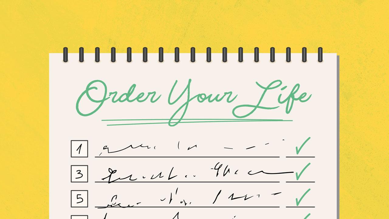 Sermon Series Order Your Life